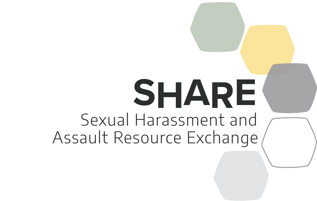 sexual harassment and assaut resource exchange logo