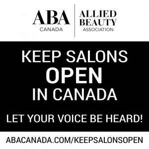 aba canada keep salons open in canada
